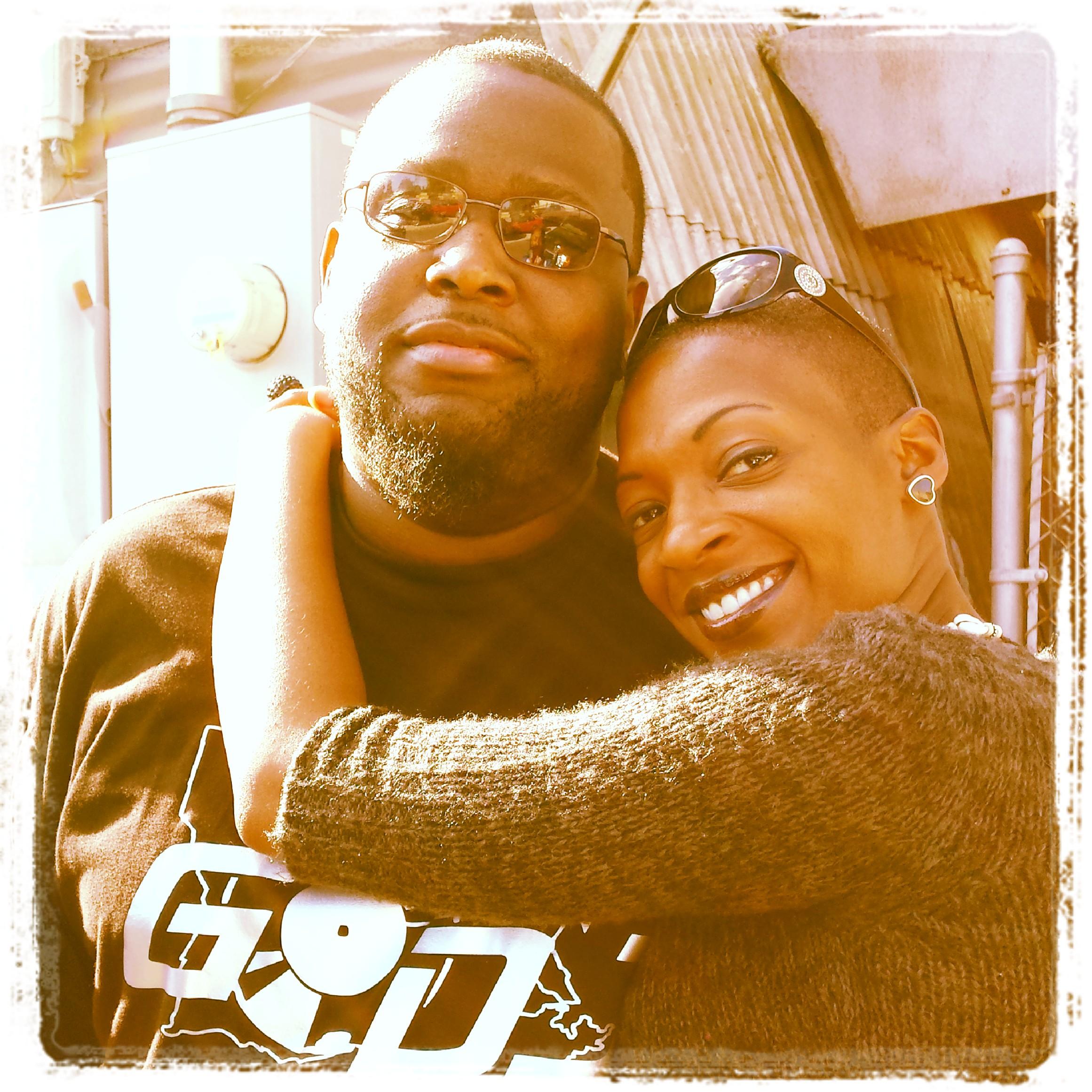 Go DJ Black N Mild (left) & Me==> @fantasy_5 (right)